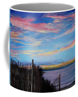 Sunset On Cape Cod Bay Coffee Mug