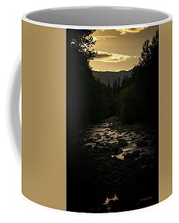 Sunset On Castle Creek Coffee Mug