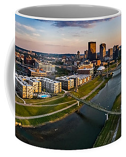 Sunset On Dayton Coffee Mug