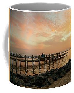 Sunset On Dewey Bay Coffee Mug