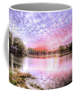 Coffee Mug featuring the photograph Sunset On Flint Creek by Maddalena McDonald