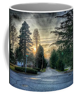 Sunset On Hilltop Drive Coffee Mug