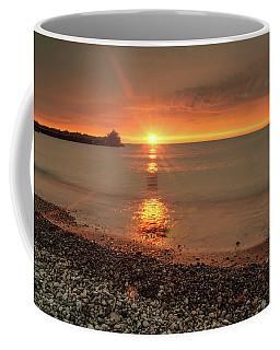 Sunset On Huron Lake Coffee Mug