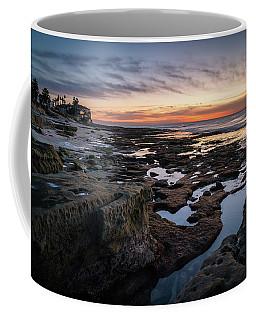 Coffee Mug featuring the photograph Sunset On La Jolla Coast by James Udall