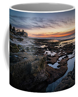 Sunset On La Jolla Coast Coffee Mug