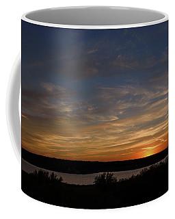 Sunset On Lake Georgetown Coffee Mug