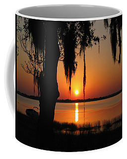 Sunset On Lake Minneola Coffee Mug