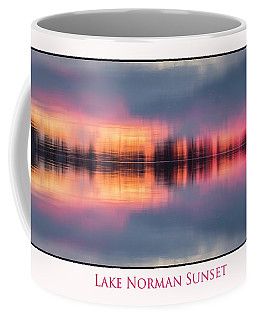 Coffee Mug featuring the photograph Sunset On Lake Norman by Ronald Santini