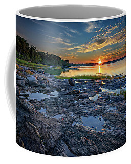 Coffee Mug featuring the photograph Sunset On Littlejohn Island by Rick Berk