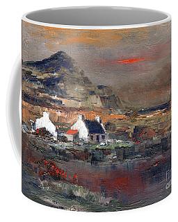Sunset On Mount Errigal, Dunegal Coffee Mug