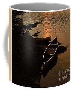 Sunset On Shell Lake Coffee Mug