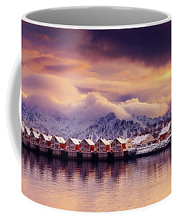 Sunset On Svolvaer Coffee Mug