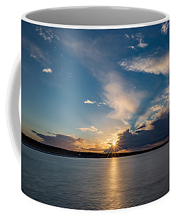 Sunset On The Baltic Sea Coffee Mug