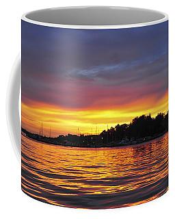 Sunset On The Bay Island Heights Nj Coffee Mug