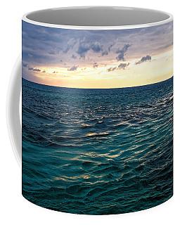 Sunset On The Caribbean Coffee Mug by Lars Lentz