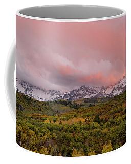 Sunset On The Dallas Divide Ridgway Colorado Coffee Mug