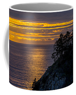 Sunset On The Edge Coffee Mug