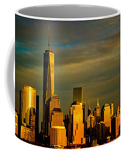Sunset On The Financial District Coffee Mug