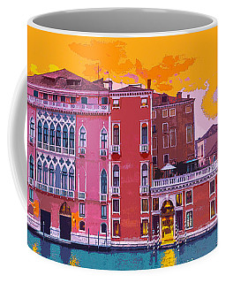 Sunset On The Grand Canal Venice Coffee Mug
