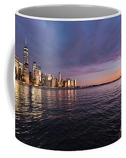 Sunset On The Hudson River Coffee Mug