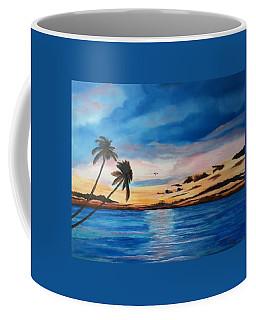 Sunset On The Island Of Siesta Key Coffee Mug