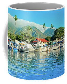 Sunset On The Marina Lahaina Harbour Maui Hawaii Coffee Mug