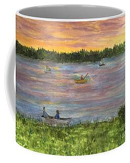 Sunset On The Merrimac River Coffee Mug