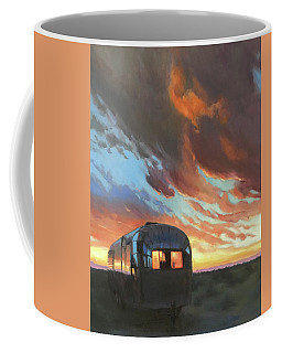 Sunset On The Mesa Coffee Mug