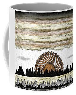Sunset On The Mesa Coffee Mug
