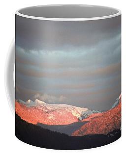 Sunset On The Monashees Coffee Mug