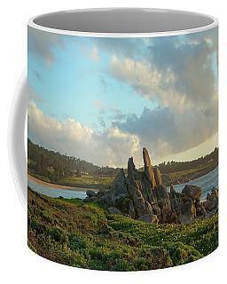 Sunset On The Pacific Ocean  Coffee Mug