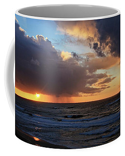 Sunset On The Pacific Coffee Mug by Katie Wing Vigil