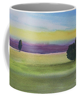 Sunset On The Plain Coffee Mug