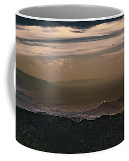 Sunset On The Sandias Coffee Mug