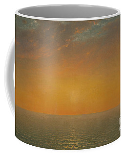 Sunset On The Sea, 1872 Coffee Mug