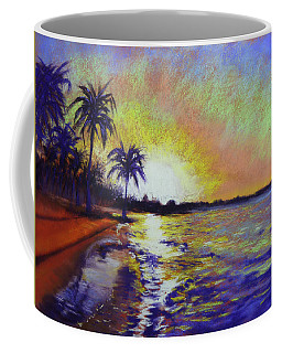 Sunset On The Sea Coffee Mug