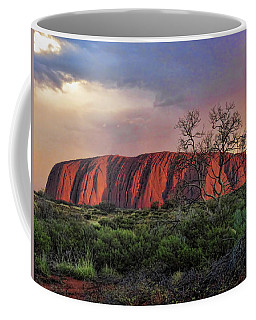 Sunset On Uluru Coffee Mug
