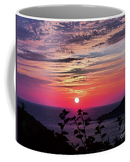 Sunset On Zihuatanejo Bay Coffee Mug