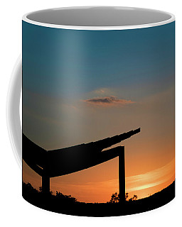 Sunset Over Austin City Limits Festival Week One 2017 Coffee Mug