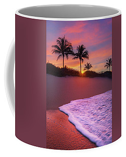 Coffee Mug featuring the photograph Sunset Over Coral Cove Park In Jupiter, Florida by Justin Kelefas