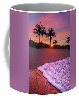 Sunset Over Coral Cove Park In Jupiter, Florida Coffee Mug