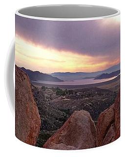 Sunset Over Diamond Valley Lake Coffee Mug