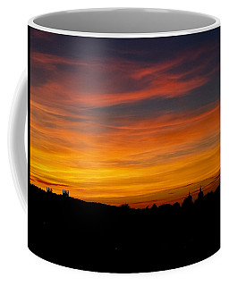 Sunset Over Edinburgh Coffee Mug