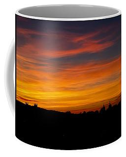 Sunset Over Edinburgh Coffee Mug