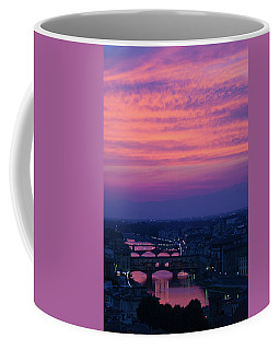 Sunset Over Florence Coffee Mug