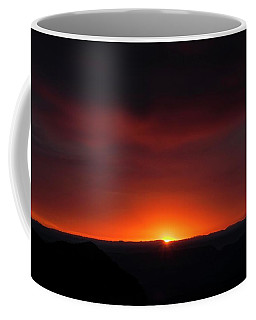 Sunset Over Grand Canyon Coffee Mug