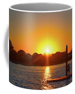 Sunset Over Hains Point Coffee Mug