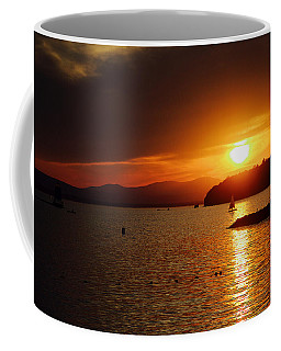 Sunset Over Lake Champlain Coffee Mug