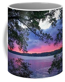 Sunset Over Lake Cherokee Coffee Mug