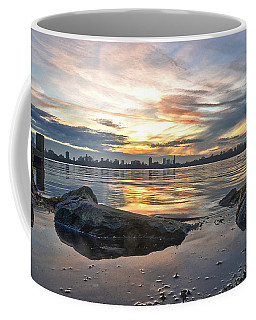 Sunset Over Lake Kralingen  Coffee Mug